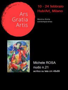 Locandina ARS GRATIA ARTIS II