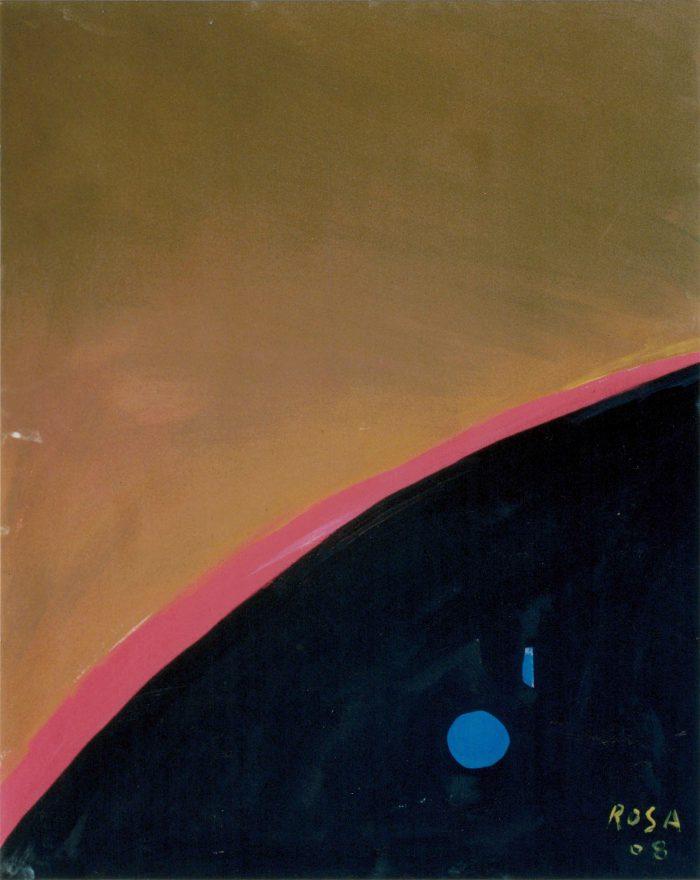 Cielo_22, 2008 - 80x100 cm - acrilico su tela
